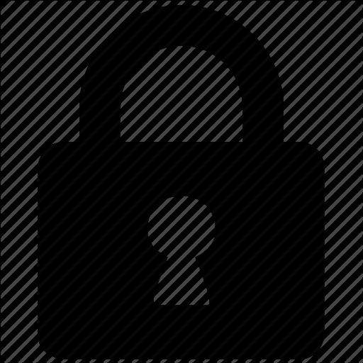 512x512 Locker Lock Clip Art