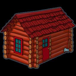 256x256 Cottage Log Clipart, Explore Pictures