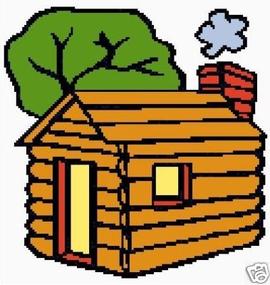 379x400 Log Cabin Color Graph Pattern Crochet Graph Afghan Pattern