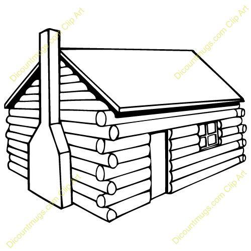 500x500 Log Homes Clipart