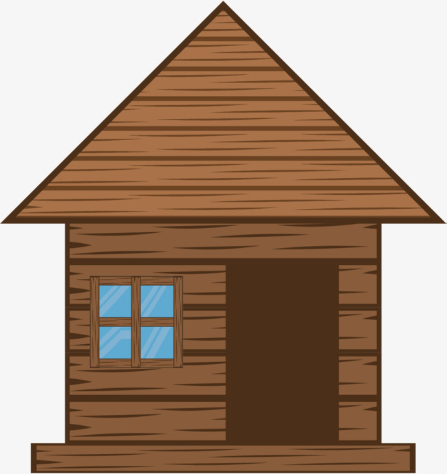 650x690 Cartoon Hut, Humble, Log Cabin, Cartoon House Png And Vector