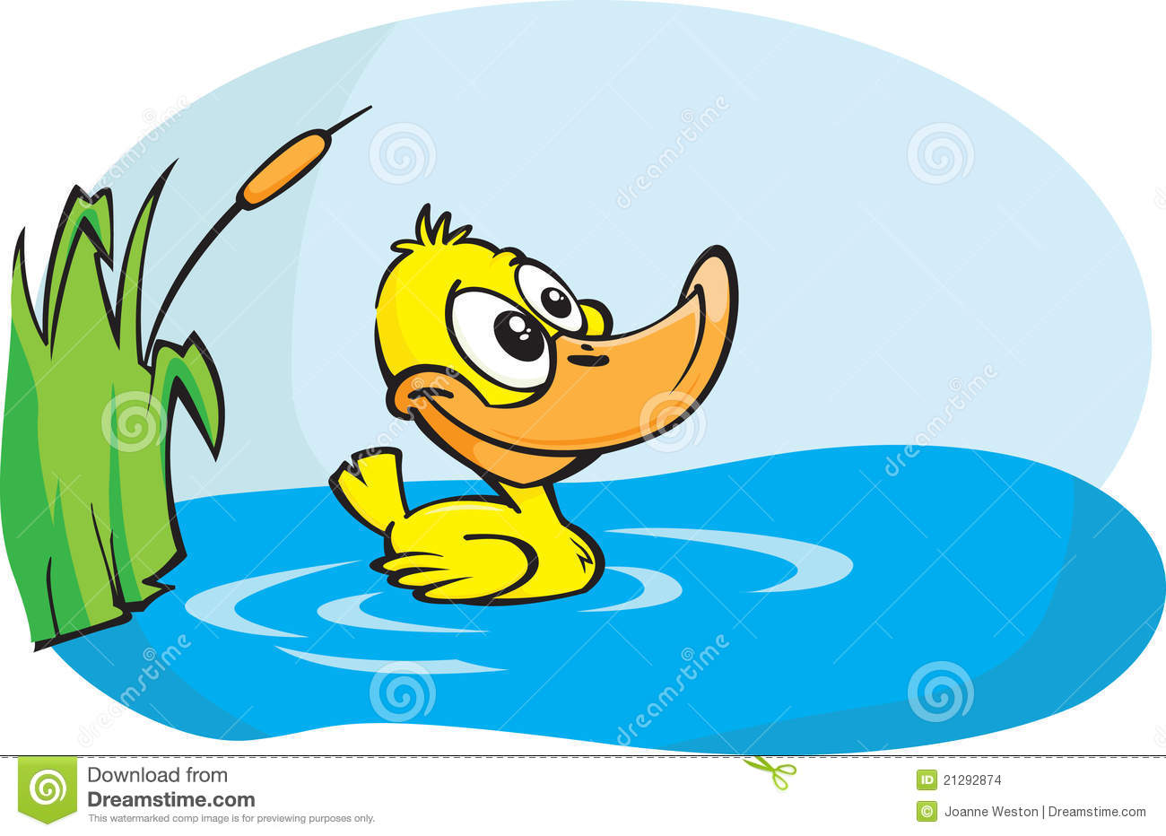 1300x932 Duck Clipart Pond Cartoon