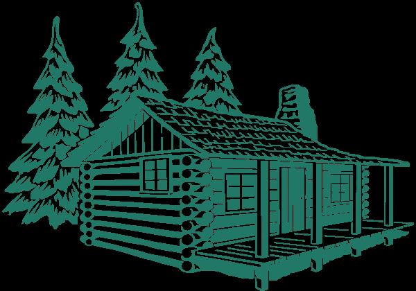 600x420 Log Cabin Svg Clip Arts Download