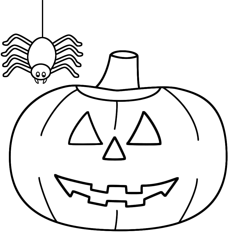 957x957 Jackolantern Coloring Pages 428606