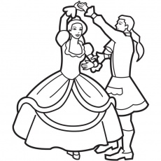 230x230 Log Cabin Coloring Page