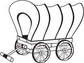 280x212 Pioneer Log Cabin Coloring Pages