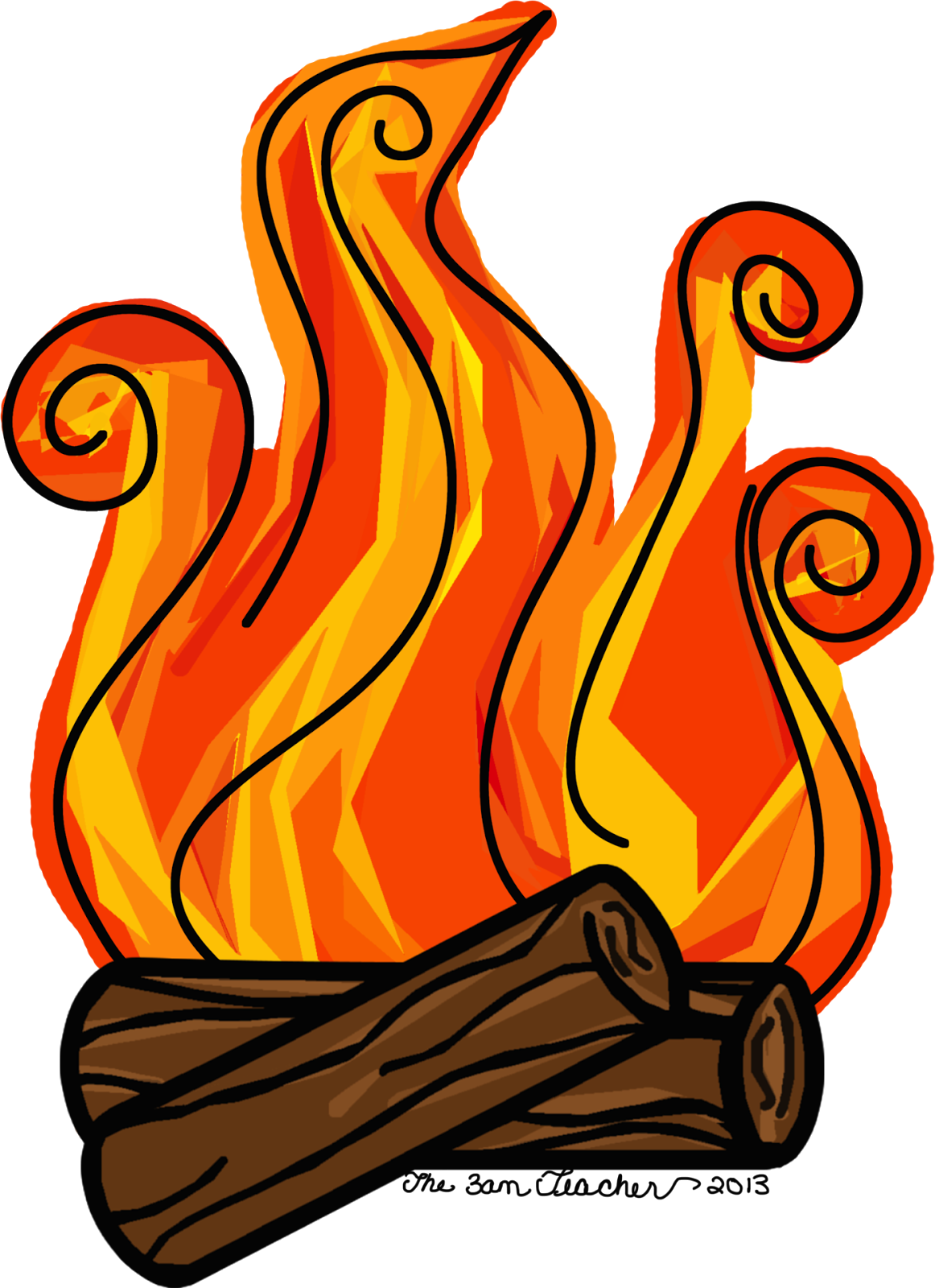 1162x1600 Flame Clipart Log Fire
