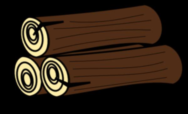 600x366 Log clip art free clipart images