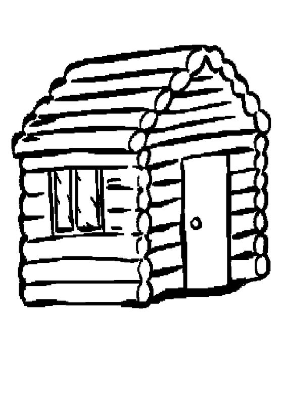 564x780 Cabin The World Clip Art