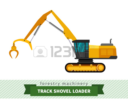 Logging Machine Cliparts