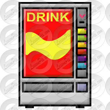 380x380 Soda Machine Picture For Classroom Therapy Use