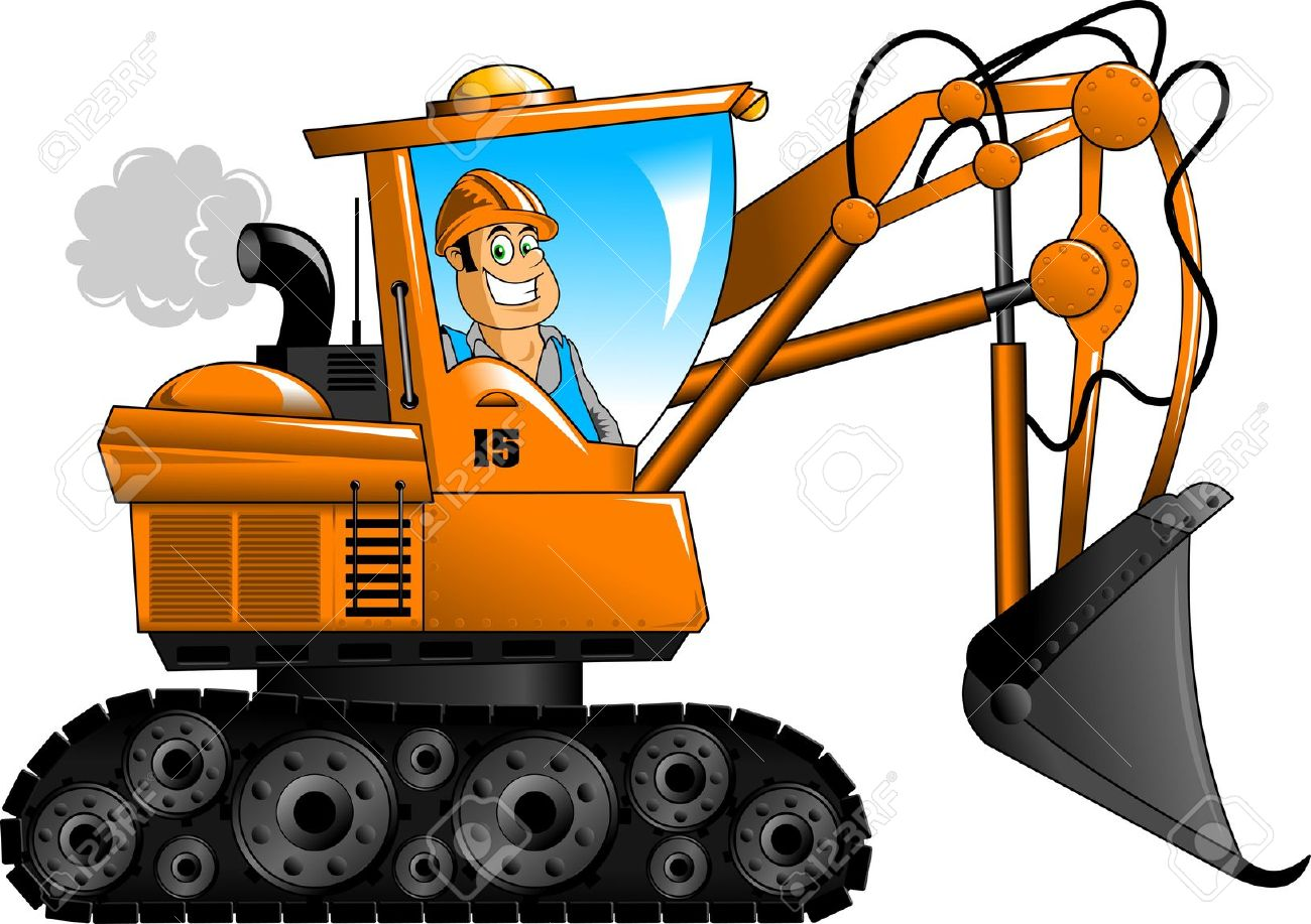 Collection of Excavator clipart | Free download best ...