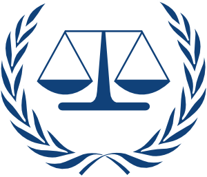 300x257 International Criminal Court Logo Clip Art