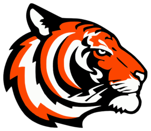 300x261 Tigers Logo Orange Clip Art