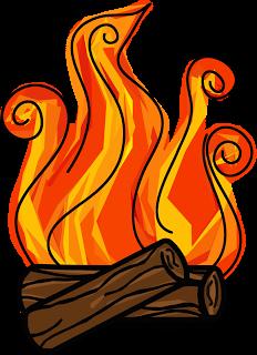 232x320 Fireplace Clipart Log Fire