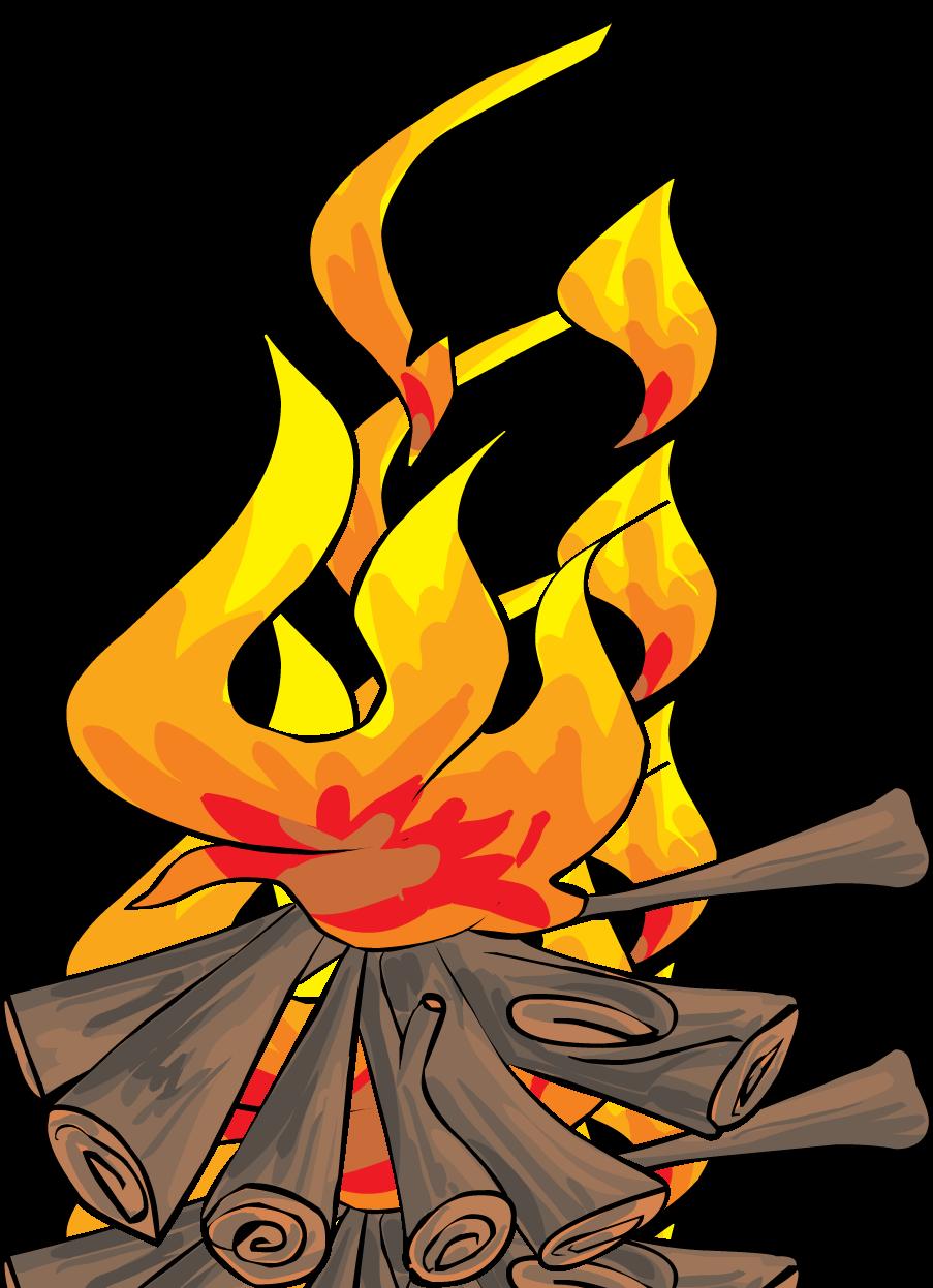 903x1247 Best Bonfire Clipart