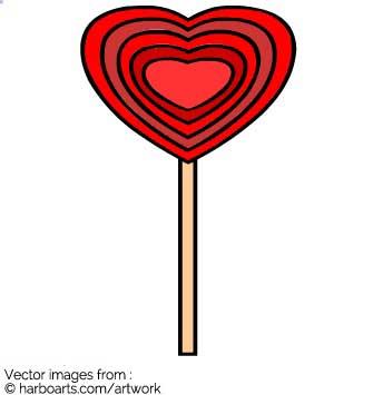 335x355 Download Heart Lollipop
