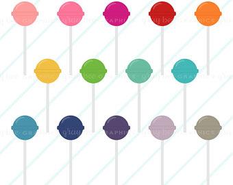 340x270 Lollipop clipart Etsy