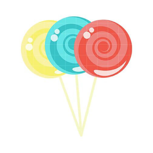 504x504 Lollipop clipart heart lollipop