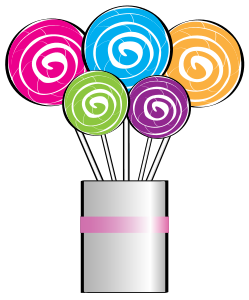 249x300 Lollipop clipart lollipop bouquet