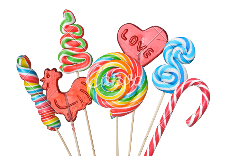 800x548 Colorful Lollipops