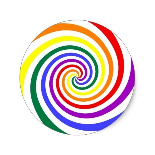 540x540 Lollipop Swirl Template