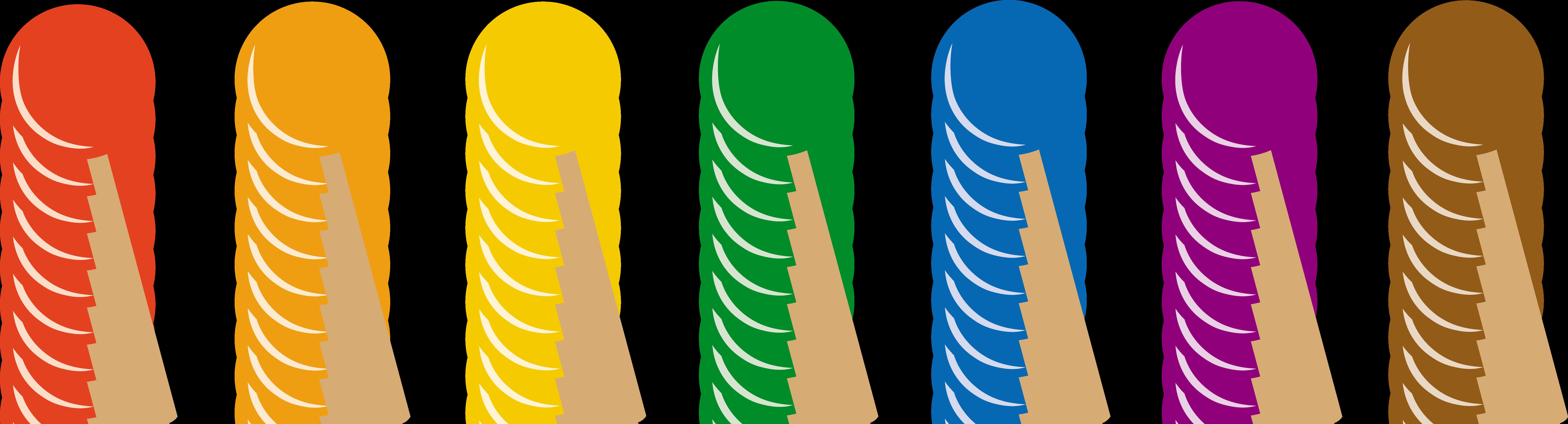 7438x2012 Lollipops In Seven Flavors