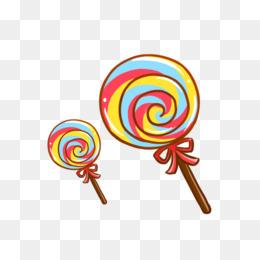 260x260 Cartoon Color Lollipop, Cartoon, Colour, Lollipop Png Image
