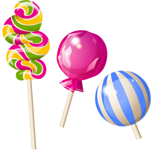 Lollipops Clipart