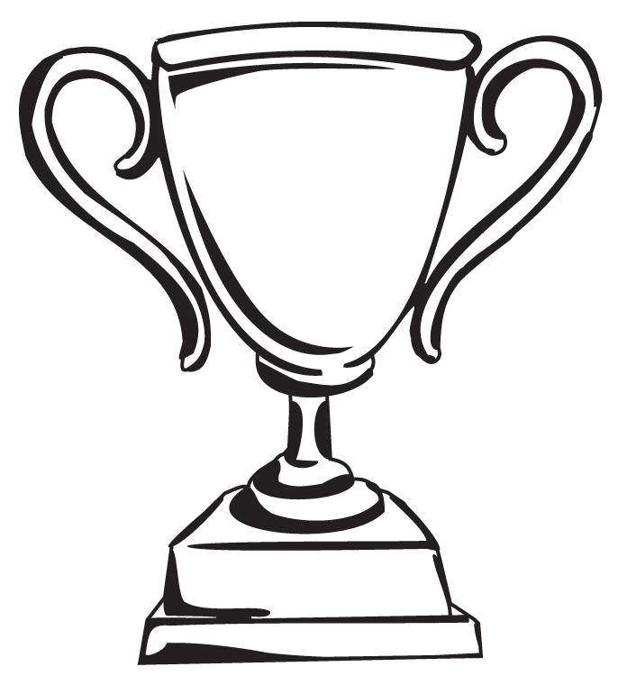 686x760 Free Trophy Clipart