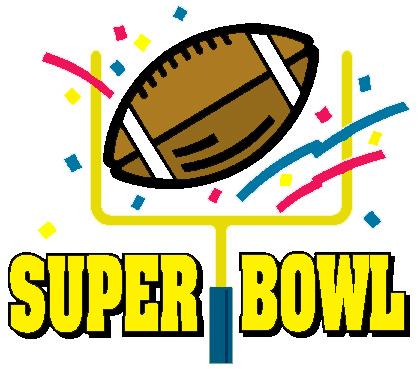 418x369 Super Bowl Clip Art