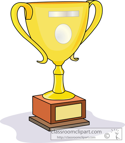 437x500 Trophy Clip Art Image 2 3