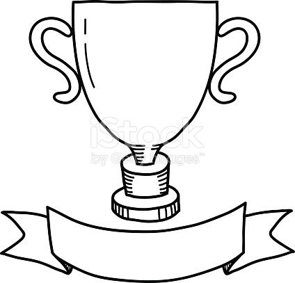 424x407 Trophy Clipart Drawn