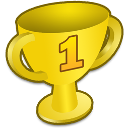 256x256 Trophy Clipart Number 1