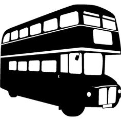 236x236 London Bus Clipart Black And White
