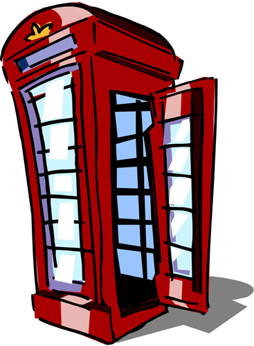 367x500 London Clipart London Phone Booth Clipart