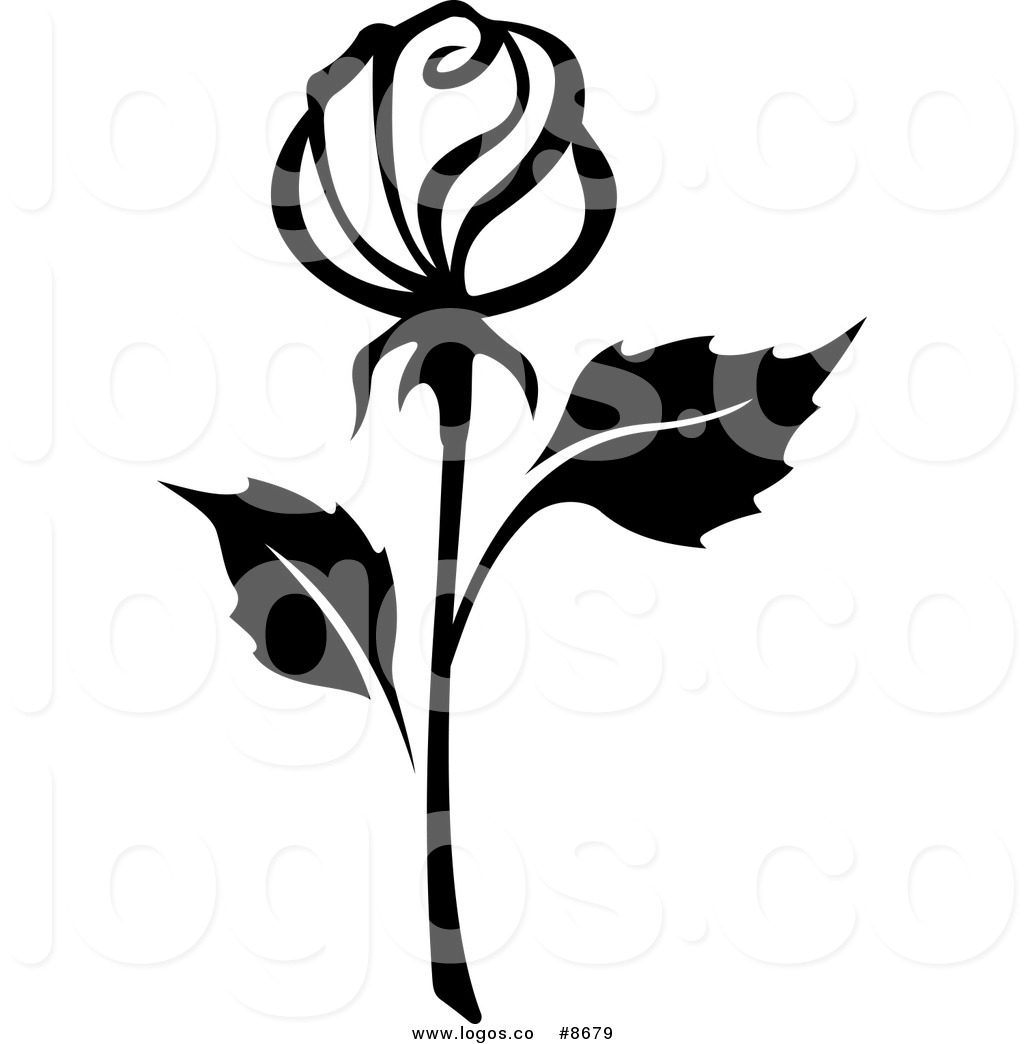 1024x1044 Royalty Free Clip Art Vector Black And White Rose With A Long Stem