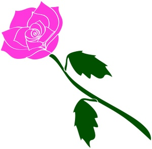 300x294 Free Rose Clipart Image 0071 0801 3019 1420 Valentine Clipart
