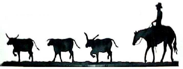 715x272 Longhorn Cattle Clipart Cattle Drive