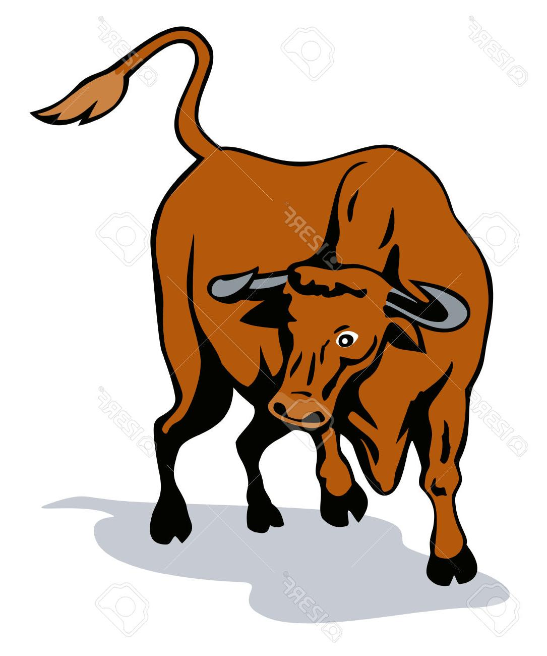 1085x1300 Best Free Raging Texas Longhorn Bull Stock Vector Cow Library