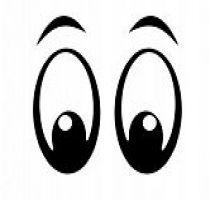 215x200 Look Eyes Clipart