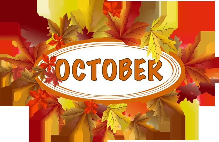 750x489 October Clip Art