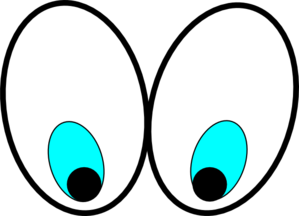 299x216 Eyes Looking Up Clipart Clipart Panda