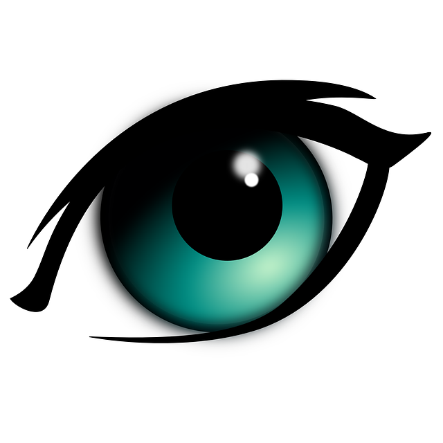 640x640 Blue Eyes Clipart Blind Eye