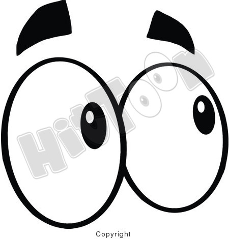 450x470 Looking Eyes Clip Art Clipart Panda