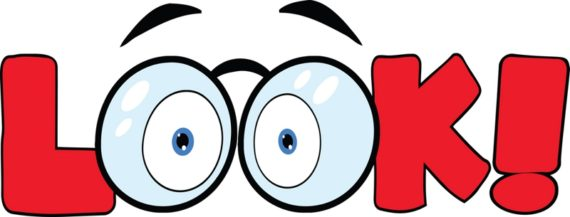 570x217 Look Eyes Clipart Cliparts