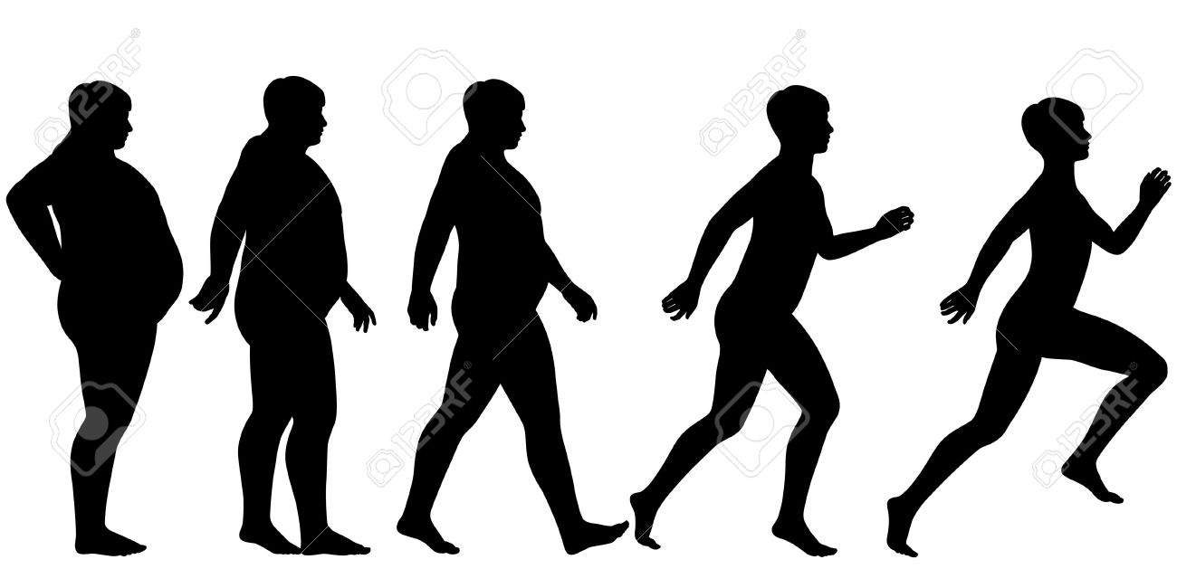 1300x650 People Clipart Losing Weight