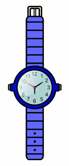 236x566 Cartoon Wrist Watch Clip Art Watch Cartoon Cartoon