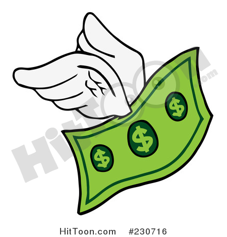 450x470 Money Clipart