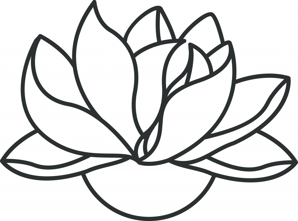 Line Drawing Flower Images : Lotus drawing free download best on